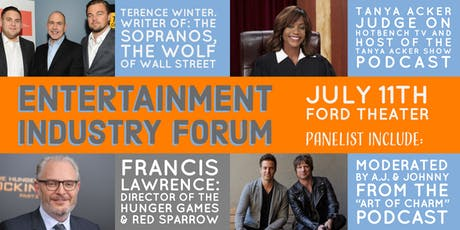 Entertainment Industry Forum - Featuring Acker, Lawrence, and Winter! tickets