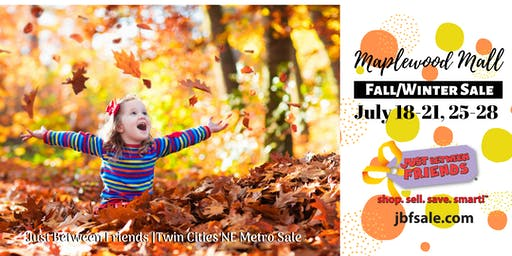Twin Cities NE Metro Fall 2019 Just Between Friends Sale