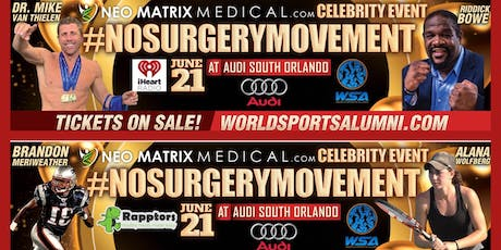 Neo Matrix Medical WSA Celebrity Red Carpet: Hosted by Audi South Orlando tickets