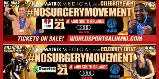 Celebrity Red Carpet Night for #NoSurgeryMovement at  Audi South Orlando