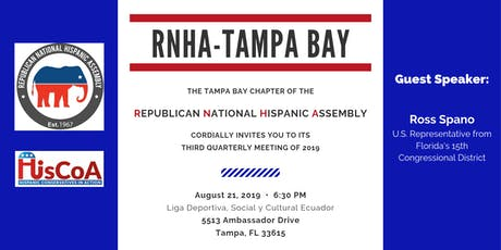 RNHA Tampa Bay - Third Quarterly Meeting 2019 (Guest: U.S. Rep. Ross Spano) tickets