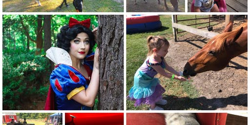 Snow White, horse rides, bounce house, more!