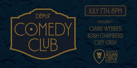 Depot Comedy Club: July Edition tickets