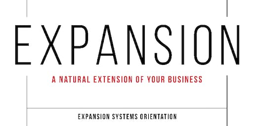 Expansion Systems Orientation (ESO) with Kristan Cole in Dallas, TX