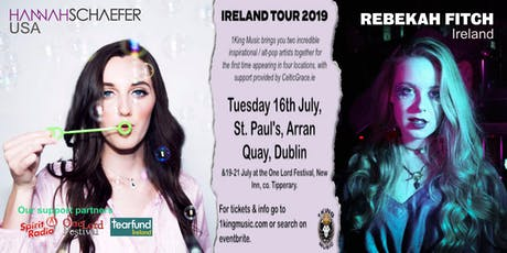 Hannah Schaefer (USA) & Rebekah Fitch (IRL) - Dublin tickets