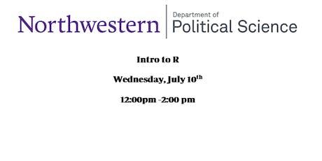 Intro to R Training for Undergraduates  tickets