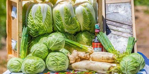 Kimchi and Sauerkraut