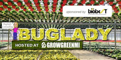 """The """"Buglady"""" Suzanne Wainwright  at Grow Green MI Sponsored by Biobest"""