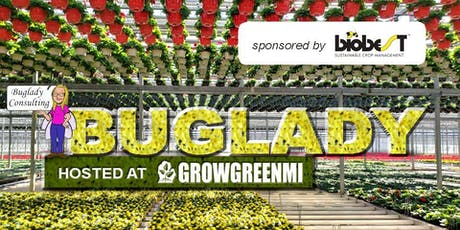 "The ""Buglady"" Suzanne Wainwright  at Grow Green MI Sponsored by Biobest tickets"