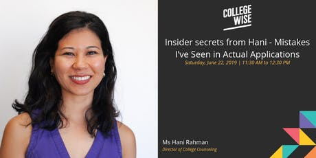 Insider secrets from Hani - Mistakes I've Seen in Actual Applications tickets