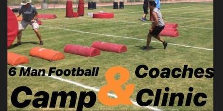 6 Man Football Camp & Coaches Clinic  tickets