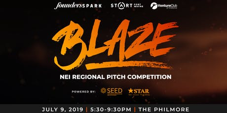 BLAZE: NEI Regional Pitch Competition tickets