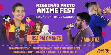 21º Ribeirão Preto Anime Fest ingressos