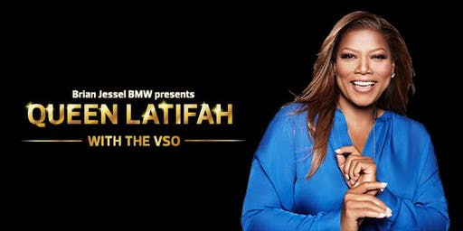 Free Concert: Queen Latifah with the VSO, presented by Brian Jessel BMW