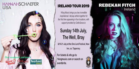 Hannah Schaefer (USA) & Rebekah Fitch (IRL) - Bray tickets