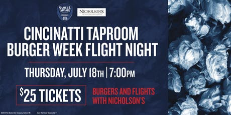 Sam Adams & Nicholson's Burger Flight Night tickets