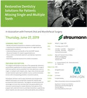 Restorative Dentistry Solutions for Patients Missing Single/Multiple Teeth