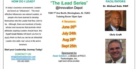 4-Part iLead Series: HOW DO I LEAD? tickets
