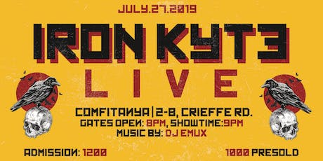 Iron Kyte Live tickets