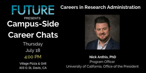 FUTURE Campus-Side Career Chats: Nick Anthis, Ph.D.