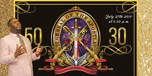 50/30 Birthday Celebration Gala for Apostle Mike Woods, Sr.