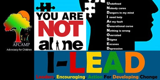"AFCAMP I-LEAD ""UNDIAGNOSED"" 2019 Youth Mental Health Community Forum"