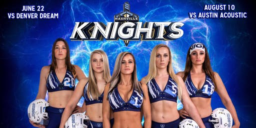 Meet the Nashville Knights Ladies Football team!
