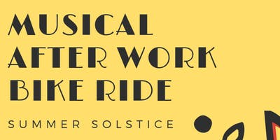 Musical After Work Bike Ride