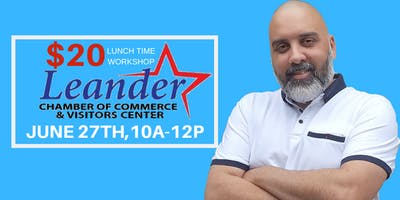 HAMID YAZ AT LEANDER CHAMBER OF COMMERCE