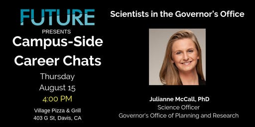 FUTURE Campus-Side Career Chats: Julianne McCall, Ph.D.