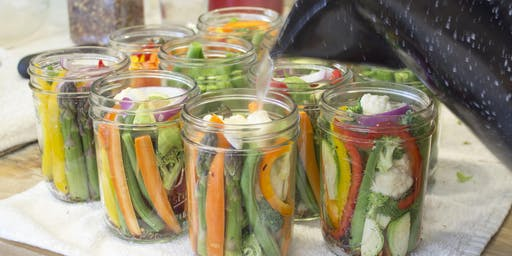 """Jardiniere """"Pickling Vegetables"""""""