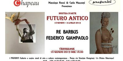 Futuro Antico-Re Barbus e Federico Giampalolo