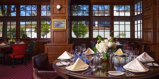 Bernardus Wine Dinner in The Club Room