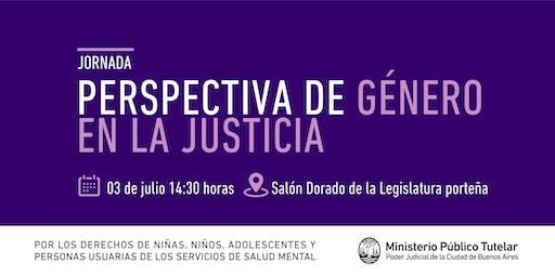 Jornada: Perspectiva de Género en la Justicia