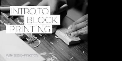 Intro to Block Printing with Jessica Pinkston