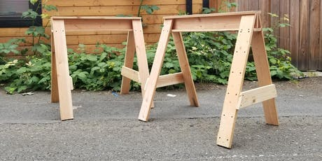 Intro to Carpentry: Sawhorses and Circular Saws tickets
