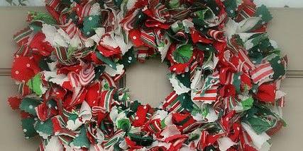 Christmas Rag Wreath Workshop