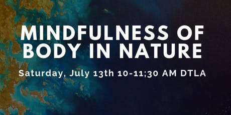 Mindfulness of Body in Nature tickets