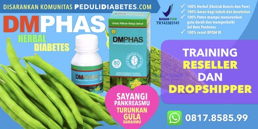 PeduliDiabetes.com DMPhas Reseller & Dropshipper Training
