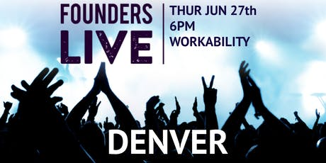 Founders Live Denver tickets