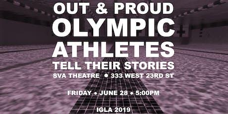 WorldPride/Stonewall50 Olympian Q&A tickets