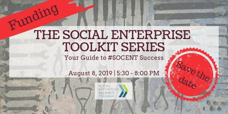 The Social Enterprise Toolkit Series: Funding tickets