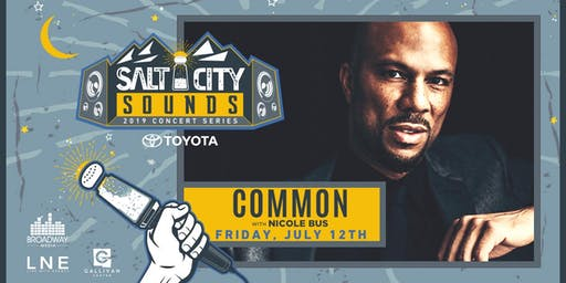 COMMON at Salt City Sounds Concert Series 2019