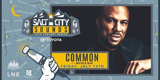 COMMON at Salt City Sounds Concert Series 2019