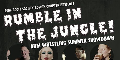 Pink Boots Rumble in the Jungle Brewster Arm Wrestling Showdown tickets