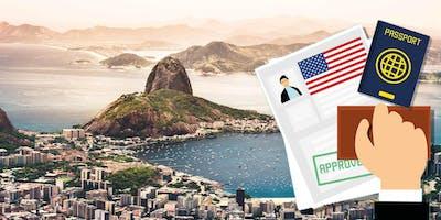 Palestra sobre Imigração para os EUA através de Investimento em Sao Paulo, Agosto 2 2019, as 19:30h
