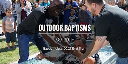 Water Baptism at Sozo Church Family Fun Night!