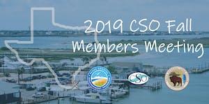 2019 CSO Fall Membership Meeting