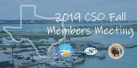 2019 CSO Fall Membership Meeting  tickets