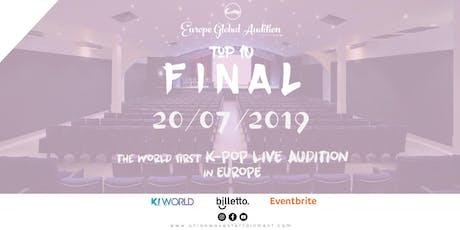 Europe K-Pop Final Audition billets